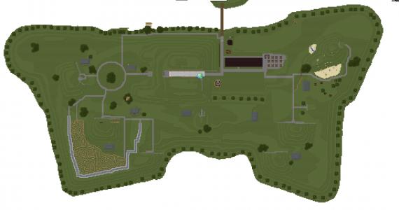 TopGeoFort GeoCraft kaart